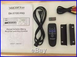 Karaoke Mixing Amp DA-3700 VocoPro 200W