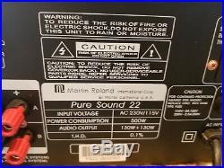 Martin Ranger Pure Sound 22 260-watts Stereo Digital Echo Karaoke Amplifier
