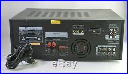 Martin Roland MA-3000K 600 Watts Pro Karaoke Digital Mixing Amplifier AMP SD/USB