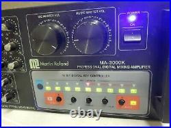 Martin Roland MA-300k Professional Digital Mixing Amplifier (dd) (a41)
