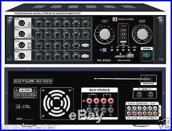Martin Roland MA2500K 400 Watts BlueTooth Karaoke Mixing Amplifier AMP