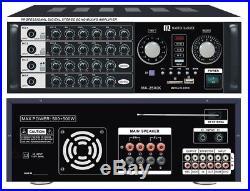 Martin Roland MA2500K 400 Watts Pro Karaoke Digital Mixing Amplifier AMP