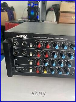 Mega AmpPro Pma-320 720 Watts Karaoke Mixing Amplifier Mint