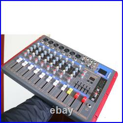 MiCWL 9 Channel Bluetooth Stereo Mixer Stage Mixing Console 16 DSP Sound Effect