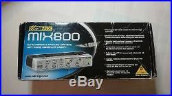 Mini mix 800 karaoke Mixer Sound effects BNIB