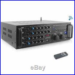 Mixers PMXAKB2000 Watts (1000W + 4 Ohms) DJ Karaoke And Amplifier With Inputs