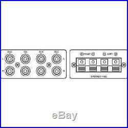 Monacor SA-230/SW Stereo Mixing Karaoke Amplifier