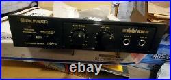 NEW 1994 PIONEER MA-3 Karaoke Mixer Digital Echo Japan & DM-21A microphone