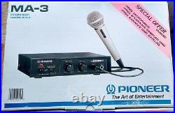 NEW 1994 PIONEER MA-3 Karaoke Mixer with Digital Echo Old-school hip hop Japan