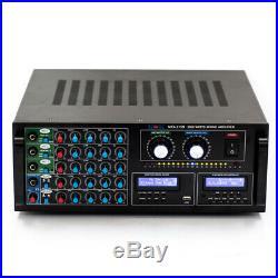 NEW 2000 Watt Karaoke DJ MIXER MIXING AMPLIFIER STEREO KOK Audio MXA-313D HDMI