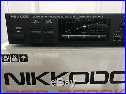 NIKKIDO DEP-2000K Karaoke Digital Processor (Japan) IN BOX! ECHO PROCESSOR