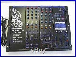 NOS Vocopro KJ-8000 Pro Professional Digital Karaoke Mixer - Cool