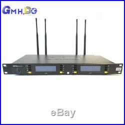NX-980 Pro UHF four channels wireless microphone Conference system