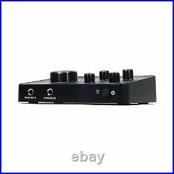 New Hisonic HS223 Digital Smart Home Karaoke Sound Mixer Dual UHF Microphone