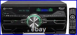 New Technical Pro 4000 Watt Bluetooth DVD CD Receiver Amplifier USB/SD FM Remote