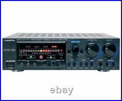New VocoPro DA-9800RV 600W Professional Digital Key Control Mixing Amplifier