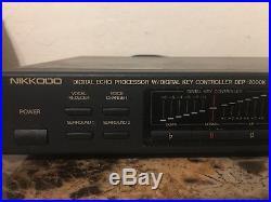 Nikkodo DEP-2000K Digital Echo Processor For Karoake