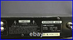 Nikkodo DEP-2000K Digital Echo Processor With Digital Key Controller Karaoke Juke
