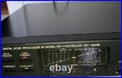 Nikkodo DEP-2000K Digital Echo Processor with Digital Key Controller Black