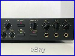 Nikkodo DEP-2000K Karaoke Digital Echo Processor With Digital Key Controller