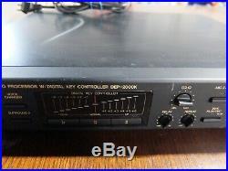 Nikkodo DEP-2000K Karaoke Mixer Processor Digital Key Controller