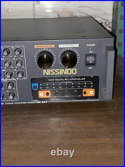 Nissido Model Ma-930 Digital Stereo Mixer Pro Amplifier