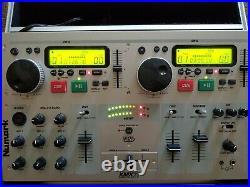 Numark Kmx01 dual CD player/mixer with karaoke capabilities. In odyssey case