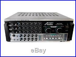 OpenBox Audio2000S AKJ7405 Professional Karaoke Mixing Amplifier with Digital W