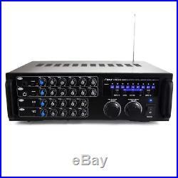 OpenBox, Pro 1000-Watt Portable Wireless Bluetooth Stereo Mixer Karaoke Amp