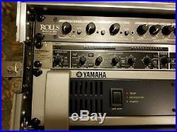 PA (DJ/KJ) System ProBuilt All-n-One YAMAHA BEHRINGER ROLLS in Gator Flight Case