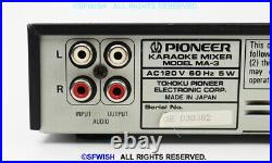 PIONEER MA-3 Karaoke Mixer with Digital Echo