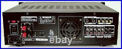 PRO TESTEDMINTY VocoPro DA-3700PRO Karaoke Mixer/200W Amp! Echo, KeyGUARANTY