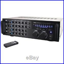 PYLE PRO 1,000-Watt Bluetooth(R) Stereo Mixer Karaoke Amp