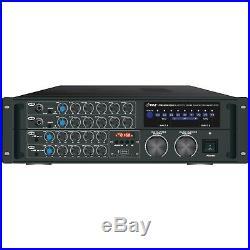PYLE PRO PMXAKB2000 2000-Watt Bluetooth(R) Karaoke Amplifier Free ship