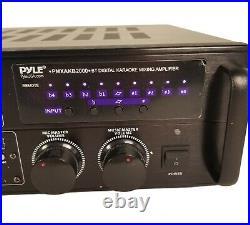 PYLE PRO(R) PMXAKB2000 Pyle Pro(R) 2,000-Watt Bluetooth(R) Stereo Mixer Karao