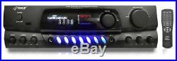 PYLE PT265BT Bluetooth 200W Digital Receiver Amplifier for Karaoke Mixing with
