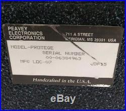 Peavey Protege DPS 1000 Digital Performance Vocal/Music Editor Parts or Repair