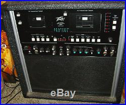 Peavey Protege -Digital Performance- Vocal / Music Editor / Amplifier / Karaoke