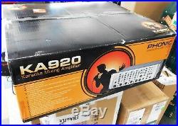 Phonic KA920 Powered Karaoke Mixer 6 Mic Inputs 460W