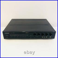 Pioneer 3 MIC Mixer Ma-9 With Digital Echo Karaoke Pitch Control Japan Works