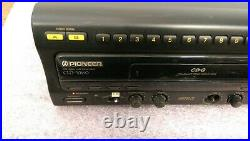 Pioneer CLD-V860 LD Player(LaserKaraoke) withPower Cord Powers On -Used