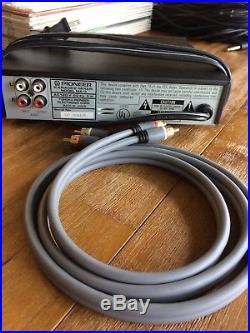 Pioneer MA-3 Digital Echo Karaoke Mixer +2 mics with extra long 36 ft cords