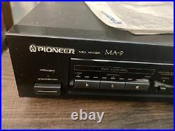 Pioneer MA-9 MIC Mixer with Digital Echo Karaoke Pitch Control Mint