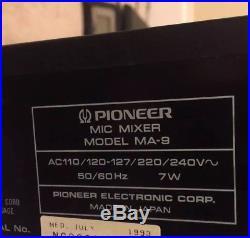 Pioneer MA-9 Mic Mixer