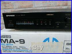 Pioneer MA-9 Mic Mixer Digital Echo Karaoke Multi Voltage in Original Box