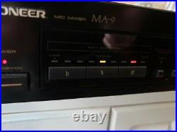 Pioneer Ma-9 MIC Mixer Digital Echo Karaoke Pitch Control Japan 1992
