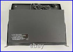 Pioneer PD-V10G CD-G Karaoke Dual Tray CD Player with Rack Shelf Mount Working
