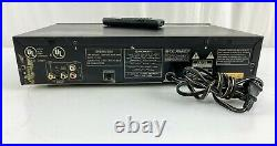 Pioneer PD-V10G CD-G Karaoke Dual Tray CD Player with remote & rack shelf mount