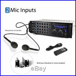 Portable Wireless Bluetooth Stereo Mixer Karaoke Amplifier System