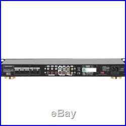 Professional 6 MIC Inputs Digital Echo Mixer Parametric Equalizer Karaoke New